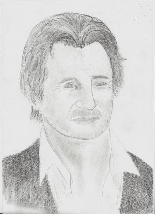 Liam Neeson por Tanguy
